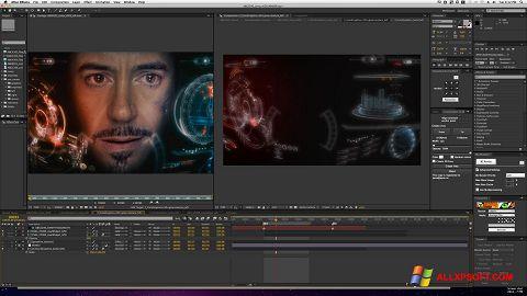 Снимка на екрана Adobe After Effects за Windows XP