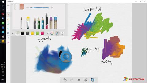 Снимка на екрана Fresh Paint за Windows XP