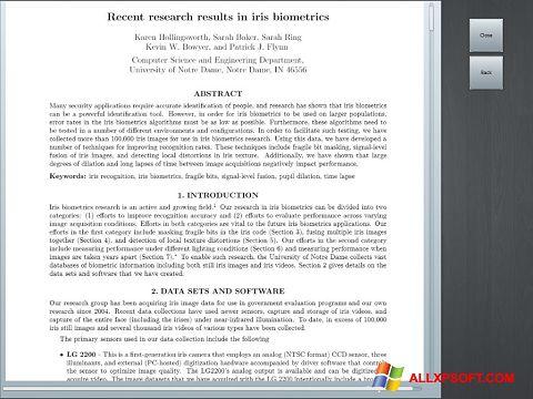 Снимка на екрана Doc Viewer за Windows XP
