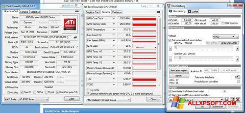 Снимка на екрана ATI Tray Tools за Windows XP