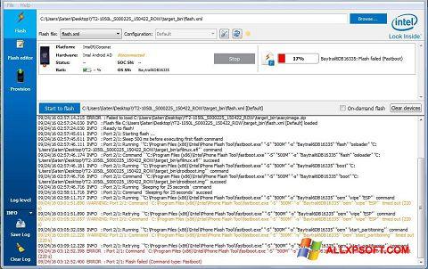 Снимка на екрана FlashBoot за Windows XP
