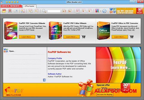 Снимка на екрана Doc Reader за Windows XP