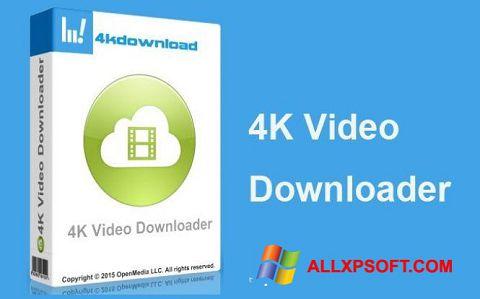 Снимка на екрана 4K Video Downloader за Windows XP