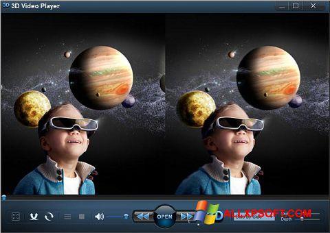 Снимка на екрана 3D Video Player за Windows XP
