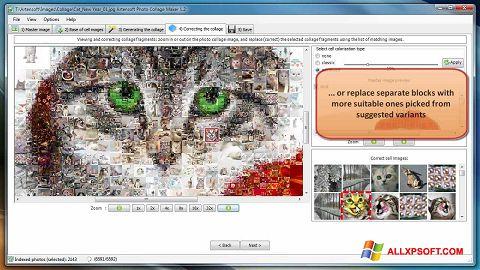 Снимка на екрана Photo Collage Maker за Windows XP