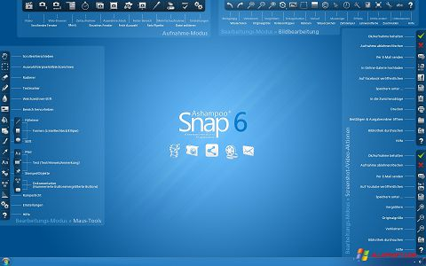 Снимка на екрана Ashampoo Snap за Windows XP