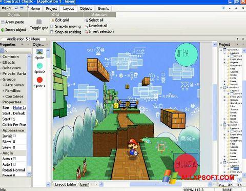 Снимка на екрана Construct Classic за Windows XP