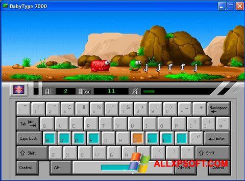 Снимка на екрана BabyType за Windows XP