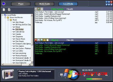 Снимка на екрана Online TV Live за Windows XP