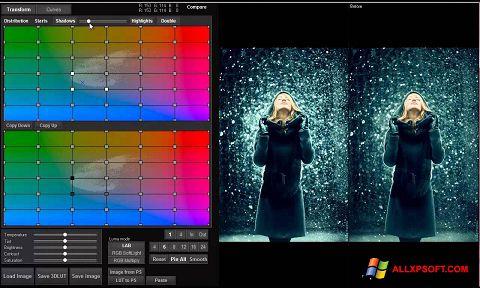 Снимка на екрана 3D LUT Creator за Windows XP