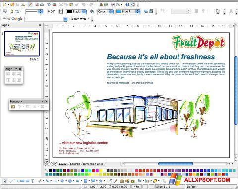 Снимка на екрана Apache OpenOffice за Windows XP