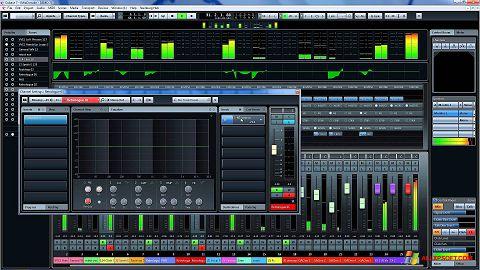 Снимка на екрана Cubase за Windows XP