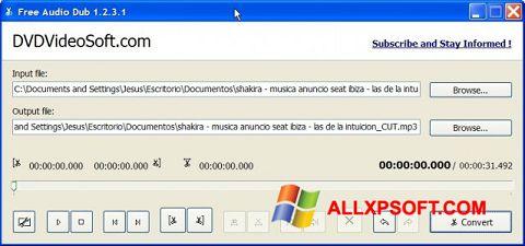 Снимка на екрана Free Audio Dub за Windows XP
