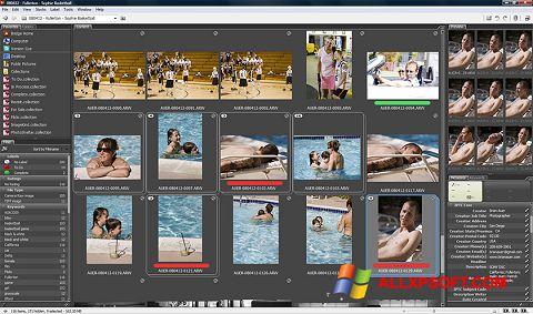 Снимка на екрана Adobe Bridge за Windows XP