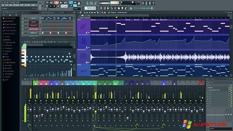 Снимка на екрана FL Studio за Windows XP