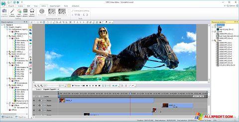 Снимка на екрана Free Video Editor за Windows XP