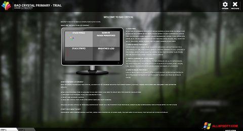 Снимка на екрана Bad Crystal за Windows XP
