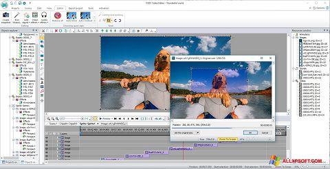 Снимка на екрана VSDC Free Video Editor за Windows XP