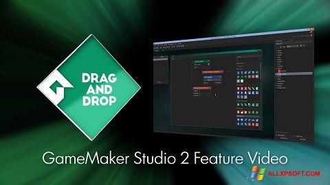 Снимка на екрана Game Maker за Windows XP