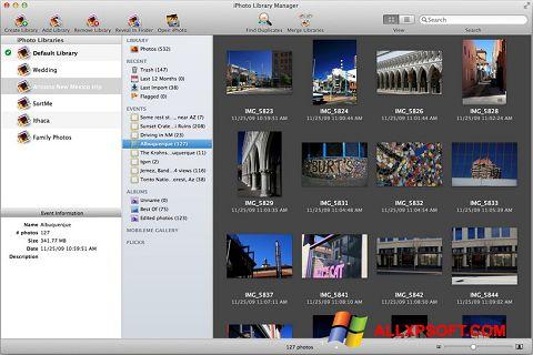 Снимка на екрана iPhoto за Windows XP