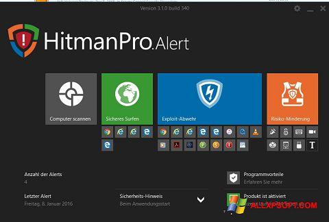Снимка на екрана HitmanPro за Windows XP