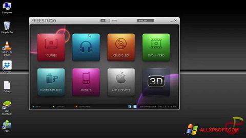 Снимка на екрана Free Studio за Windows XP