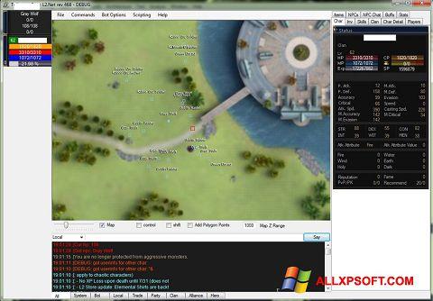 Снимка на екрана UoPilot за Windows XP