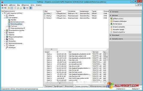 Снимка на екрана Traffic Inspector за Windows XP