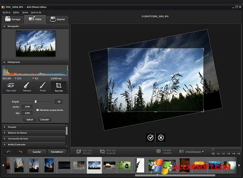 Снимка на екрана Photo! Editor за Windows XP