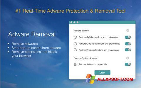 Снимка на екрана Adware Removal Tool за Windows XP