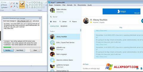 Снимка на екрана Clownfish за Windows XP
