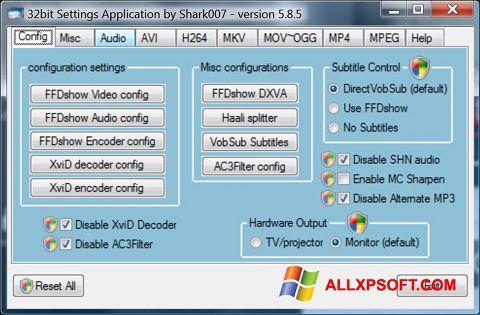 Снимка на екрана Vista Codec Package за Windows XP