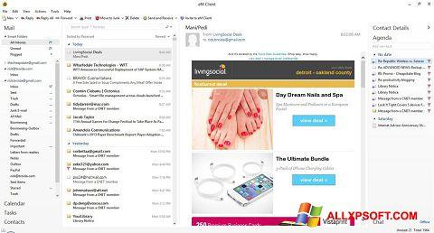 Снимка на екрана eM Client за Windows XP