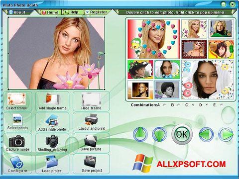 Снимка на екрана Photo Booth за Windows XP