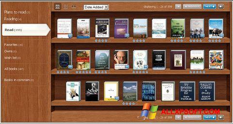 Снимка на екрана Bookshelf за Windows XP