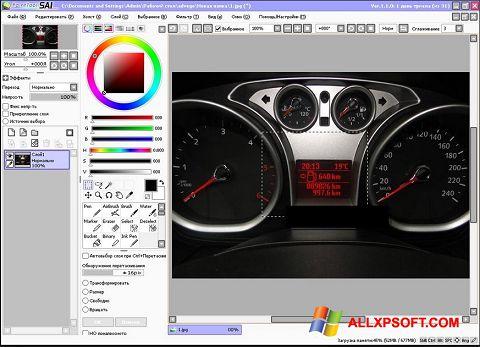 Снимка на екрана Paint Tool SAI за Windows XP