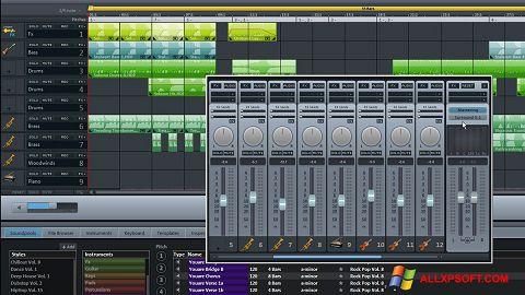 Снимка на екрана MAGIX Music Maker за Windows XP