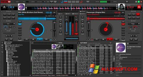 Снимка на екрана Virtual DJ за Windows XP