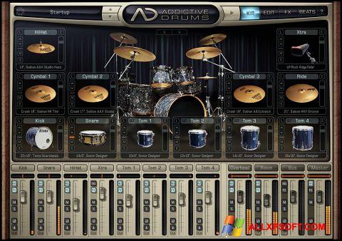 Снимка на екрана Addictive Drums за Windows XP
