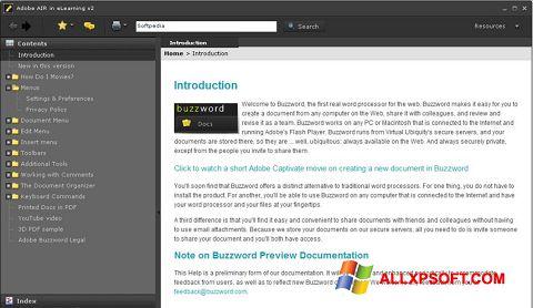 Снимка на екрана Adobe AIR за Windows XP