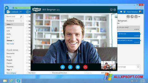 Снимка на екрана Skype за Windows XP