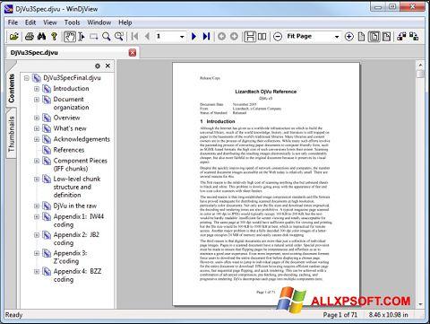 Снимка на екрана WinDjView за Windows XP