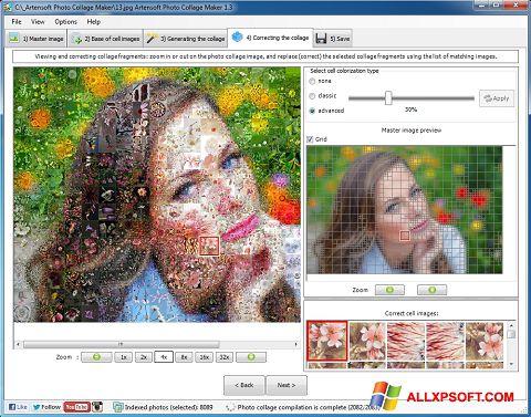 Снимка на екрана Photo Collage за Windows XP