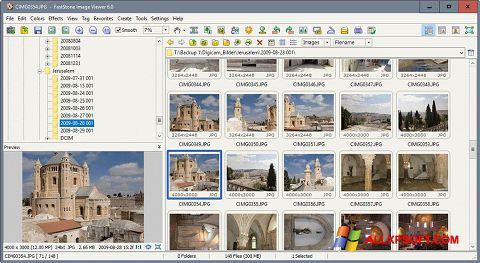 Снимка на екрана FastStone Image Viewer за Windows XP