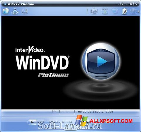 Снимка на екрана WinDVD за Windows XP