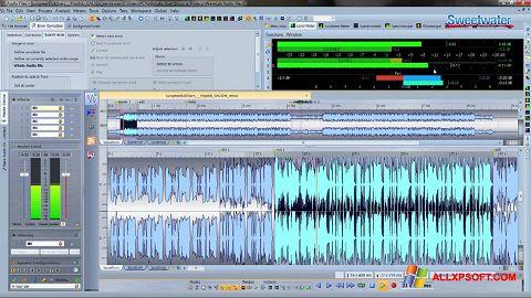 Снимка на екрана WaveLab за Windows XP