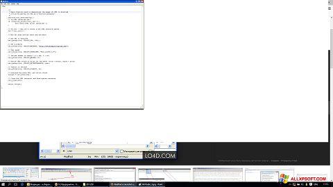Снимка на екрана AkelPad за Windows XP